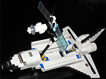 space shuttle lego